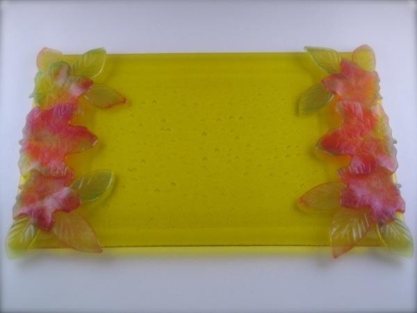 Yellow Leaf Platter