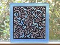 Pattern Fuser as Window Art