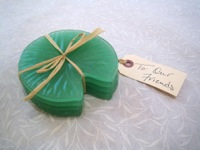 Lily Pad Coasters