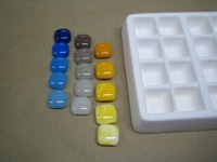 Creating Frit Paint Chips