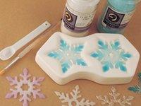 Making Colour de Verre Snowflakes