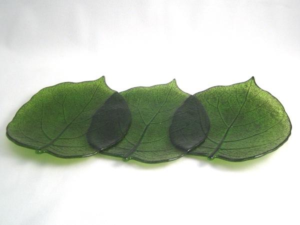 Long Kiwi Leaf Platter