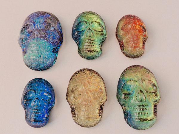 Dichroic Skulls
