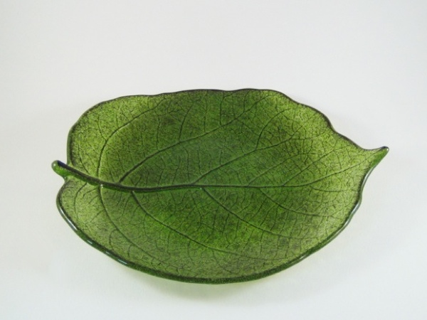 Small Kiwi Leaf Plate