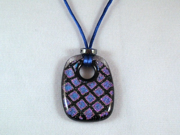 Purple Pillow Pendant