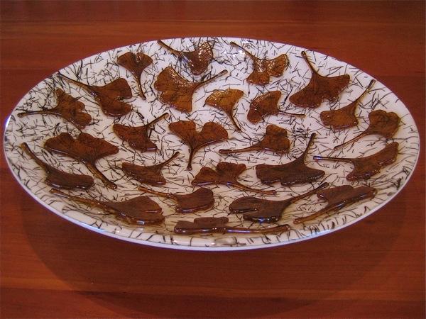 Ginkgo Leaf Platter
