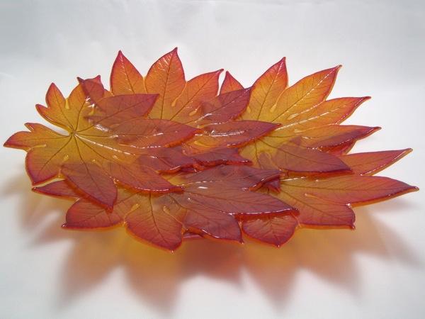 Aralia Leaf Bowl