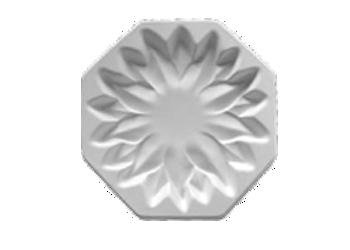 """7"""" Plain Floral Form"""