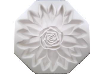 """9"""" Rose Floral Form"""