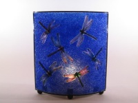 Oval Dragonfly Lamp